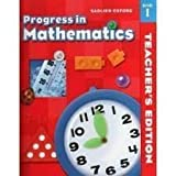 img - for Progress in Mathematics by Rose Anita McDonnell (2001-05-03) book / textbook / text book