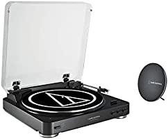 Audio-Technica AT-LP60 Turntable with Speaker Set for $199.99