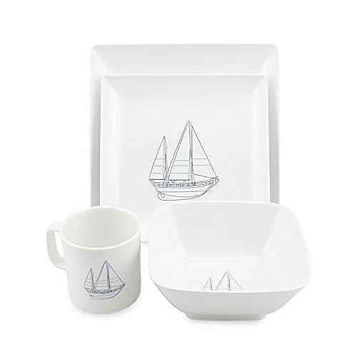 sc 1 st  Amazon.com & Nautical Dishes Dinnerware Sets: Amazon.com