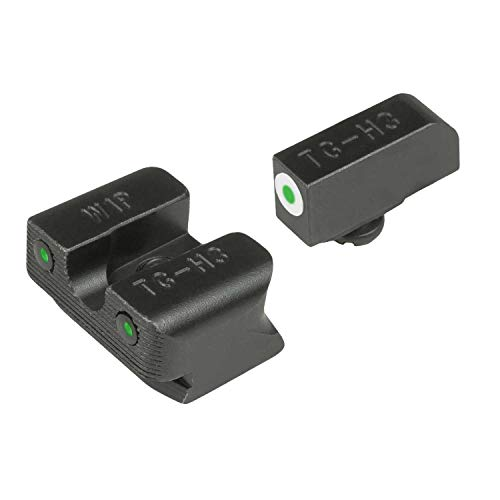 TRUGLO Tritium Pro Glow-in-the-Dark Handgun Night Sights for Walther Pistols, Walther PPS