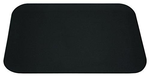 DURAPAD Contoured Desk Pad, 12 x 17 Inch, Black (Walnut Notepad)