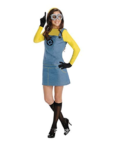 Withchic Minion Women's Adult Dress Up/Role Play Costume