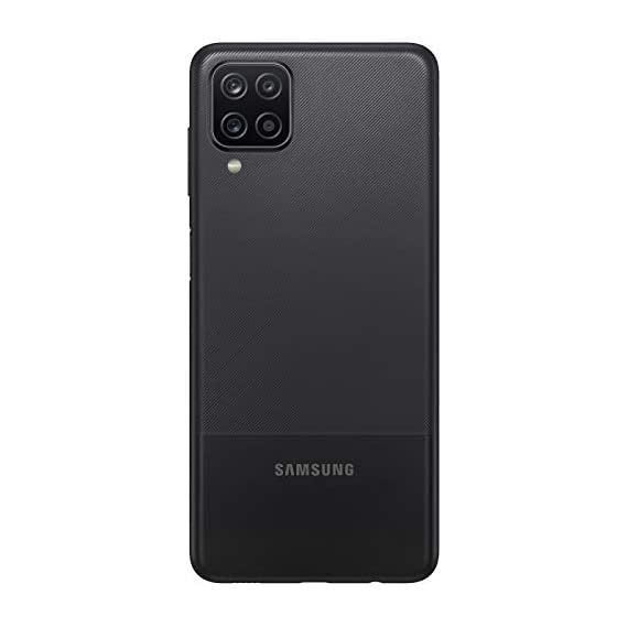 Samsung Galaxy A12 (Black,4GB RAM, 128GB Storage) Without Offers