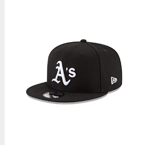 New Era 9Fifty Hat Oakland Athletics MLB Basic Black/White Snapback Cap