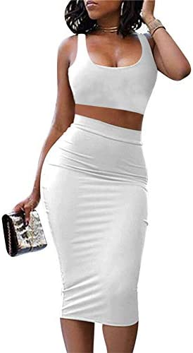 2 piece white outfit _image0