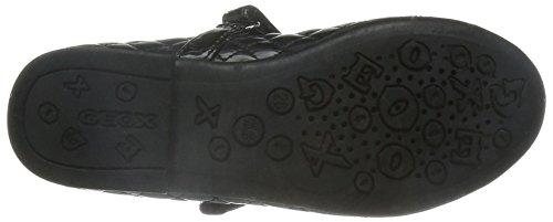 Geox Jr Plie D, Sandales Bout Fermé Mixte Adulte Schwarz (BLACKC9999)