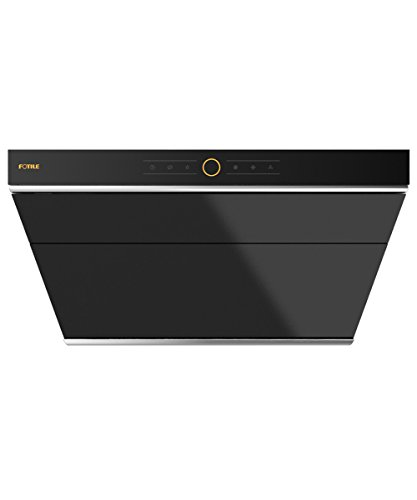 "FOTILE JQG7501 30"" Range Hood Under Cabinet Kitchen Stainless Steel Wall Mount with LED Light (Black)"
