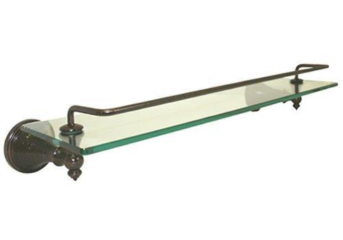 Dark Oil Rubbed Bronze Bathroom Bath Accessories Glass Shelf Hardware Accessory by Bathroom Hardware