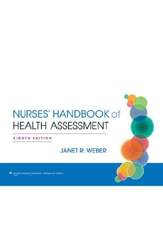 Nurse's Handbook of Health Assessment Pdf