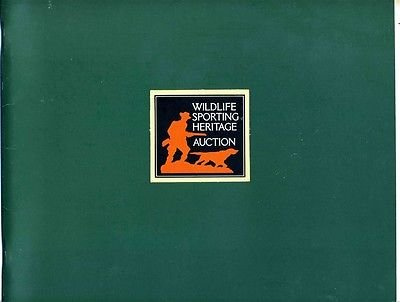 Wildlife Sporting Heritage Auction Catalog 1986 Swiss Avenue Counseling Center