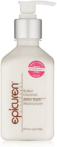 Epicuren Discovery Kukui Coconut After Bath Body Moisturizer, 8 Fl oz