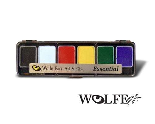 Wolfe Face Art and FX Palette - Essential - Hydrocolor (6/colors)