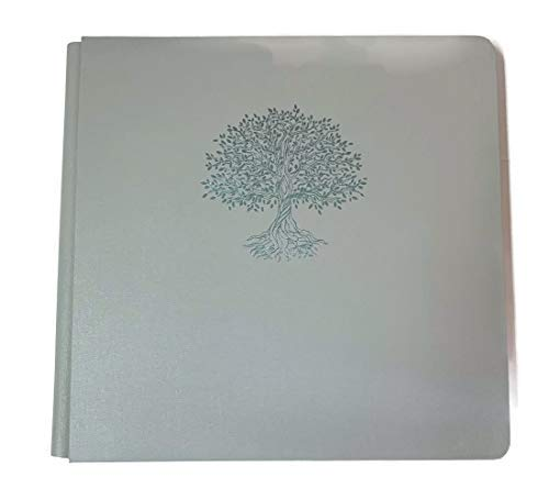 Creative Memoires 12x12 Cool Grey Tree of Life Rare Album Book Cloth Cover