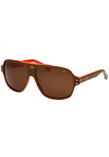Nike MDL. 230 Sunglasses, Brown/Orange, Brown - Sunglasses Orange Nike