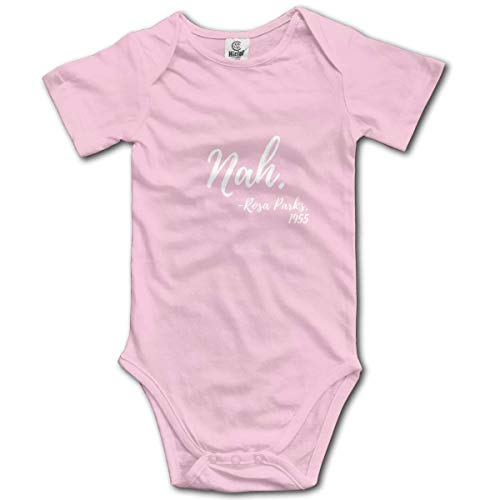 sport outdoor 003 Nah. Rosa Parks, 1955 Infant Short-Sleeve Bodysuit Baby Boys Girls Pink ()