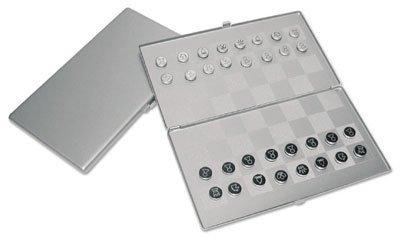 Ruda Overseas 225 Metal Magnetic Chess/Checkers Set