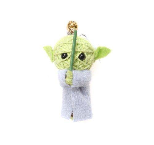 Yoda Voodoo String Doll Keychain