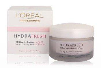 L'Oreal Hydrafresh Aqua Cream For Normal To Dry Skin - 50ml