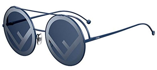 New Fendi RUN AWAY FF 0285/S PJP/8N Blue/Grey blue Sunglasses