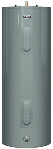 RHEEM 6E40-D 2492488 240V 4500W Richmond Essential Tall Electric Water Heater with Top T&P Relief Valve, 40 gallon