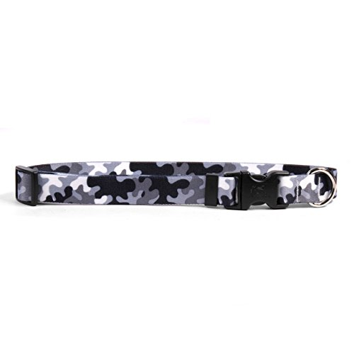 ack And White Camo Dog Collar 3/8