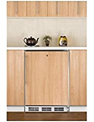 Summit AL750LBIFR Refrigerator, Brown