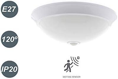 LEDUNI Aplique Plafón LED Superficie Techo con Sensor Movimiento ...