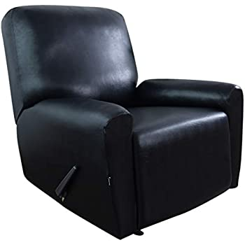 Amazon Com Easy Going Pu Leather Recliner Slipcovers