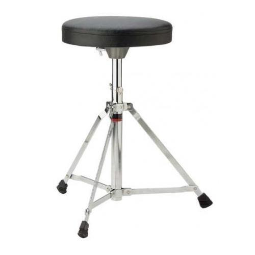 Stagg DT-25 Single Braced Adjustable Drum Throne - Black
