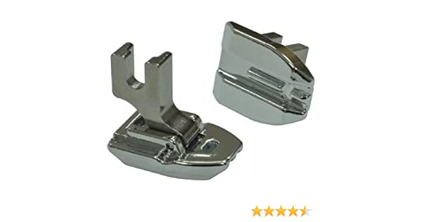 ZIPPER FOOT SNAP ON FITS BROTHER  BABYLOCK AND OTHER MAKES OF MACHINES