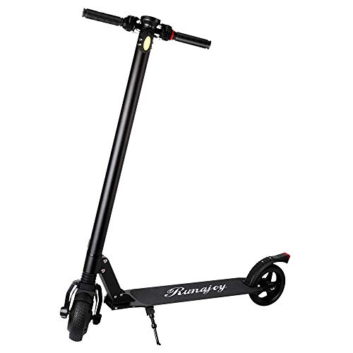 RND Electric Scooter for Adults Folding Commuting Scooter 12KM Long Range Battery with Explosion-Proof Tire, E-ABS Disc Dual Brake, 250W Motor Max Speed 25KM/H, Max Weight 110lbs