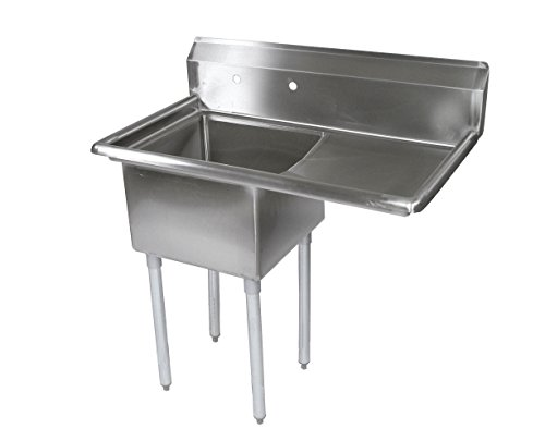 John Boos E Series Stainless Steel Sink, 12