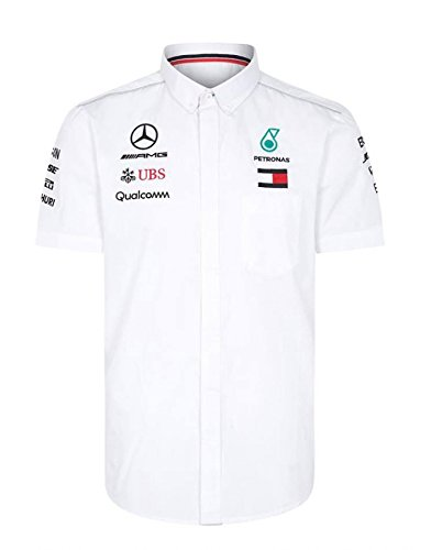 Mercedes AMG F1 Team Driver Puma Shirt White Official 2018