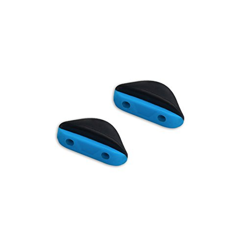 Replacement Nosepieces Accessories for Oakley Triggerman Sunglasses (Blue-Asian Fit, ()
