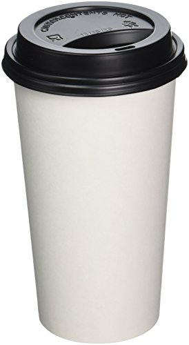 16 oz coffee cups and lids - 8