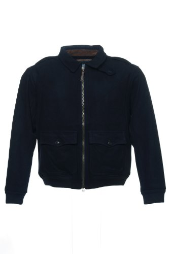 (Polo by Ralph Lauren Black Bomber Jacket , Size 2XLarge)