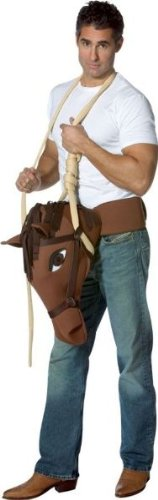 (Hung Like A Horse Funny Adult Costume - One)