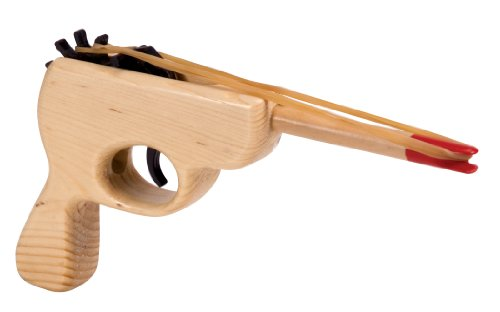 Rubber Band Gun (Make Wooden Toy Gun)