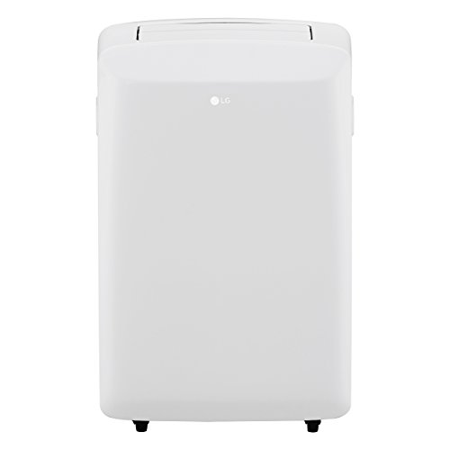 LG LP0817WSR 115V Portable Air Conditioner with Remote Control in White for Rooms up to 150-Sq. Ft. (Lg Air Conditioner Remote Control)