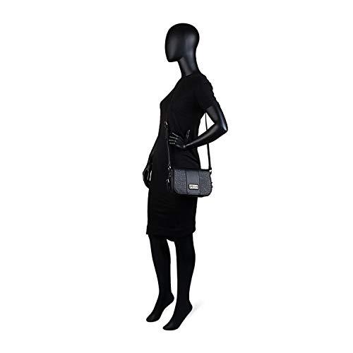 Éclair 95881 Et Poches Synthétique Noir Lois Zip Fermeture Double Anse Bandoulière De Cuir Color Style 95815 Arrière Sac Shopping À Réglable PAqwnTAYv