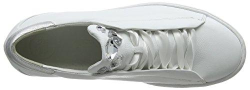 M Multicolor Masterc Zapatillas Mujer Silver Cervo Green para White Silver 22 White Paul pzAqtwC