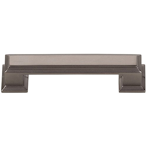 Atlas Homewares 291-SL Sutton Place Collection 3 Inch Center Handle Pull, Slate - Place Pull Sutton Appliance
