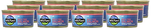 Wild Planet, Wild Pink Salmon, 6 Ounce, Pack of 12 8