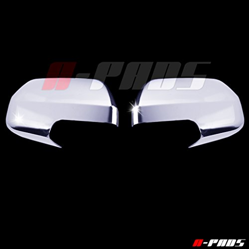 A-PADS 2 Chrome Mirror Covers for Ford ESCAPE 2008-2012 / Mercury MARINER 08-2010 / Mazda TRIBUTE 08-10 - Full Chrome Mirrors Pair