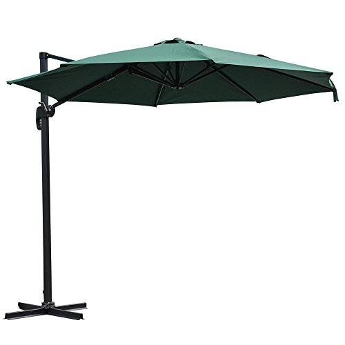 Yescom Hanging Outdoor Umbrella Cantilever