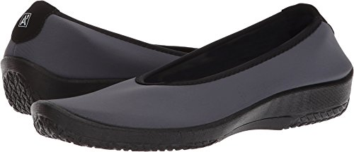 Arcopedico Womens Slip on Grey Lolita zYwzS
