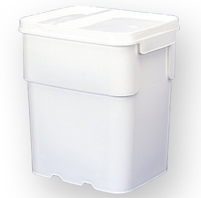 Square Pail Lid - 13 gal.Square Ez Stor Bucket Pail and lid, Recessed Handle and Lid