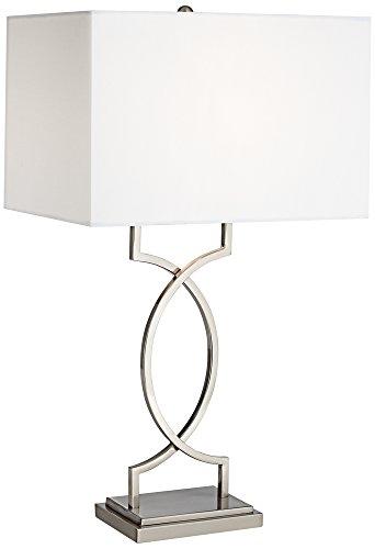 Modern Nine Light (Pacific Coast Lighting Modern Elegance Table Lamp in Nickel)