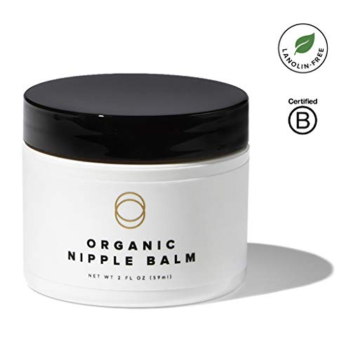 Lanolin Natural (Cora Organic, Lanolin-Free, Baby-Safe Nipple Cream/Nursing Balm Soothes Nipples Naturally For Safe, Comfortable Breastfeeding)