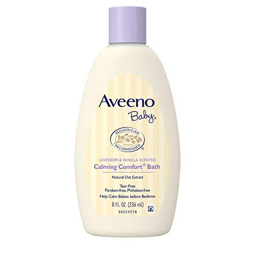 Aveeno Baby Calming Comfort Baby Bath, 8 oz